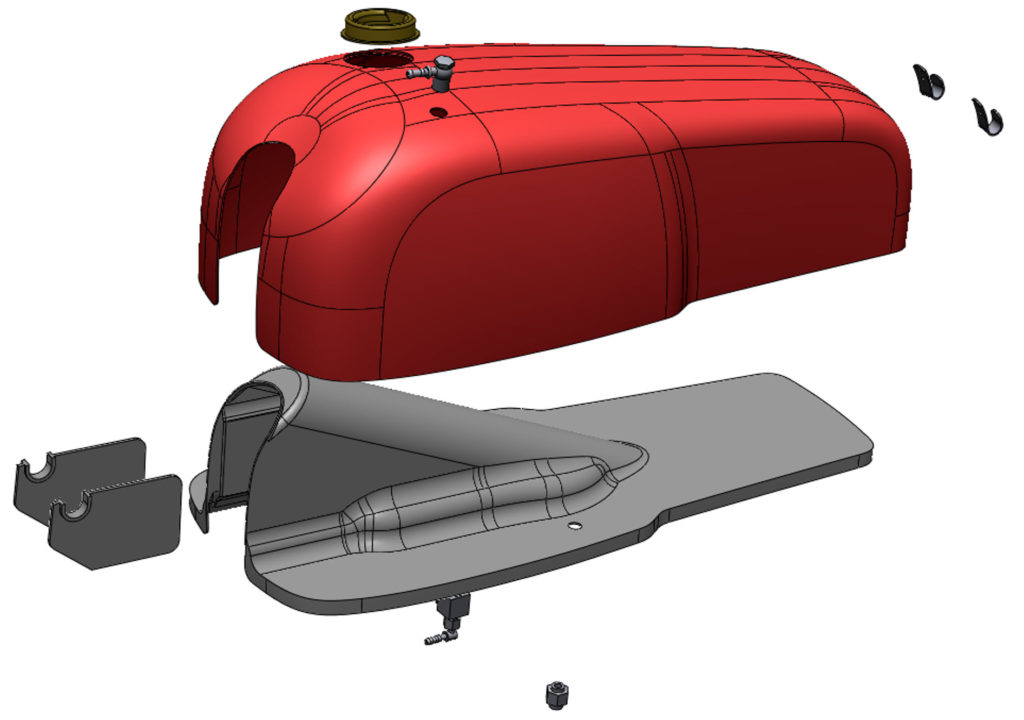 CRTT tank exploded view