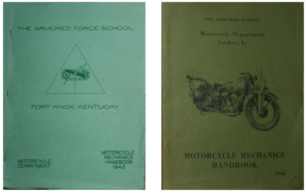 Johan's Fort Knox Motorcycle Mechanics Manual 1942 And 1943