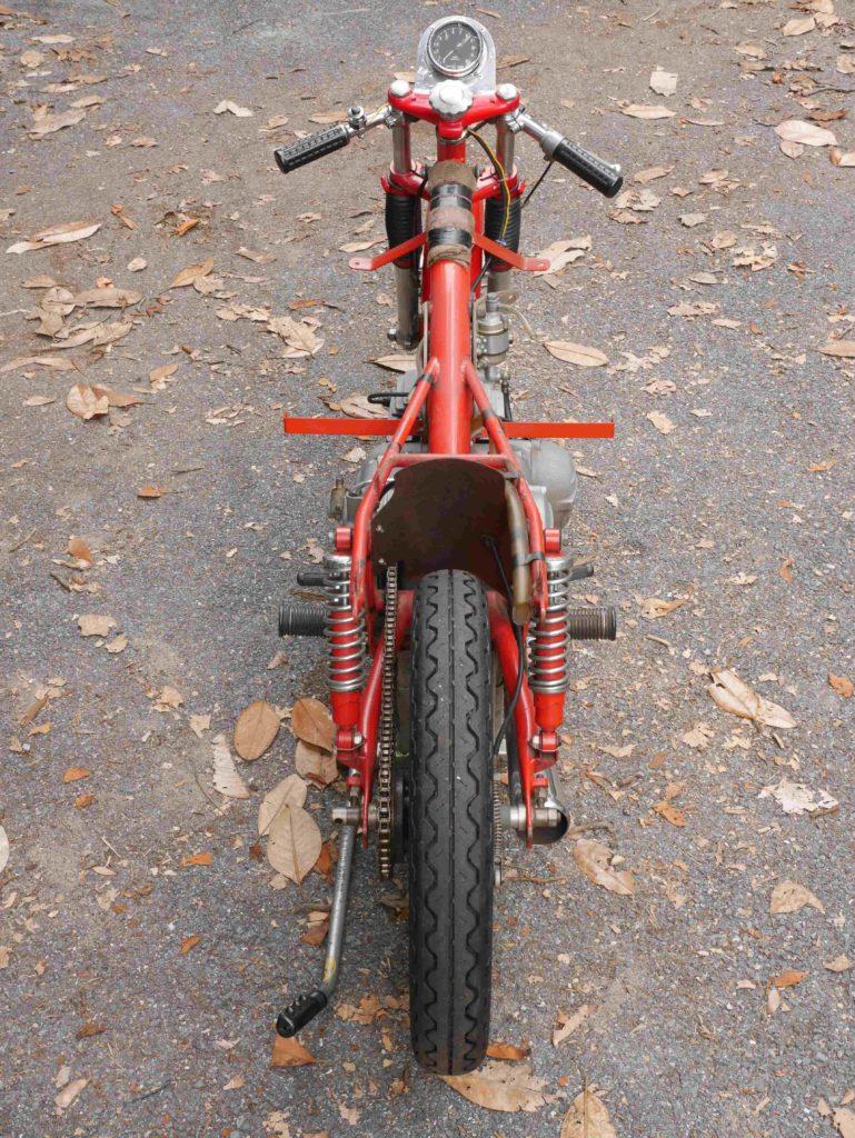 Harley-Davidson Aermacchi CRTT frame back-end skinny