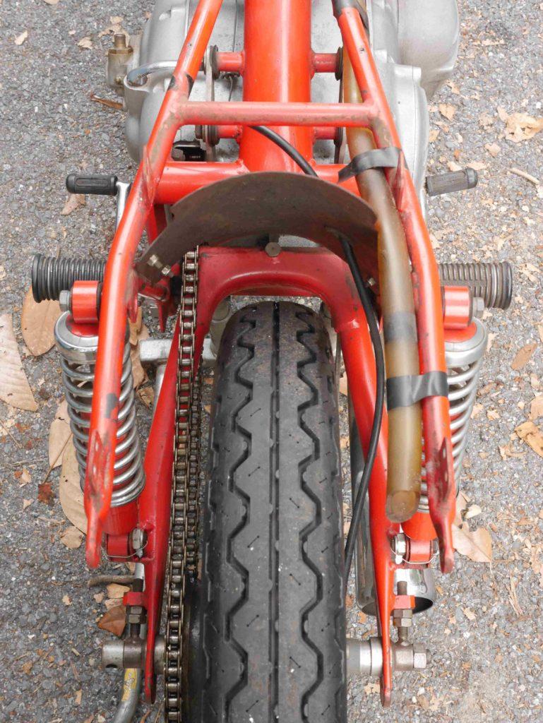 Harley-Davidson Aermacchi CRTT aggressive back end