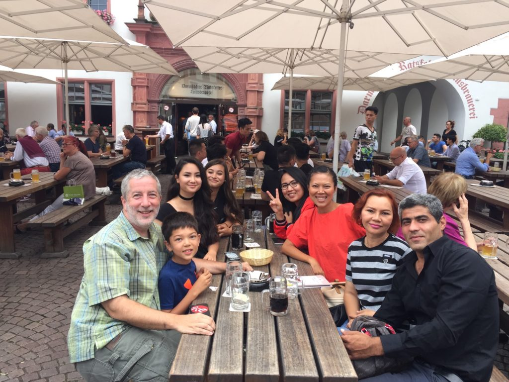 Aey's family in Germany. Amazing how people move all over the world.