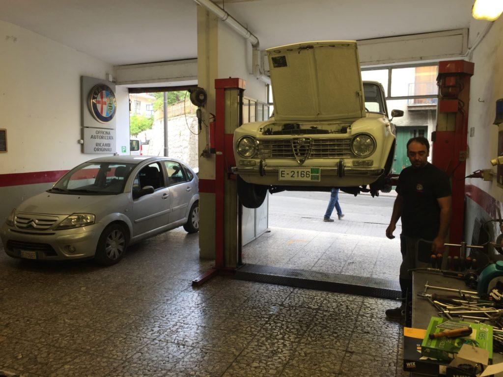 Alfa Romeo diagnosed by Alessandro