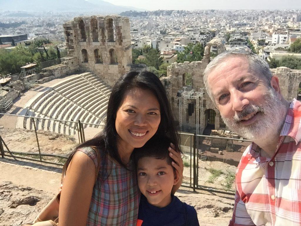 Pre-Acropolis ruins. The magic is everywhere.