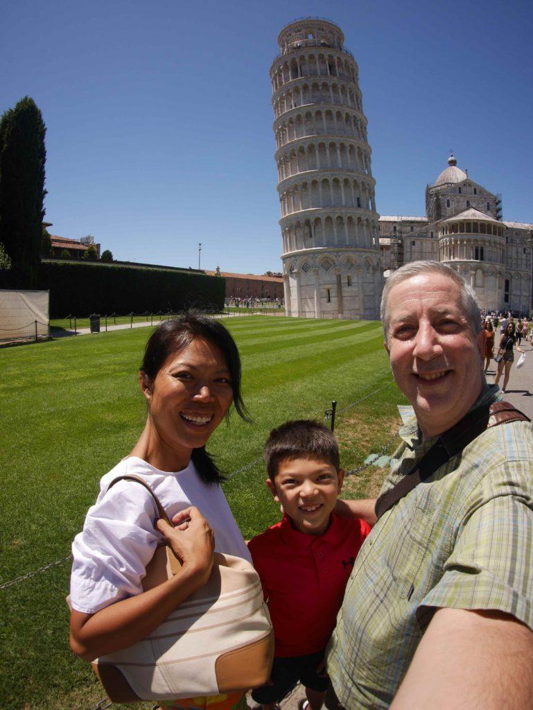 The family photo of Pisa. Obligatory.