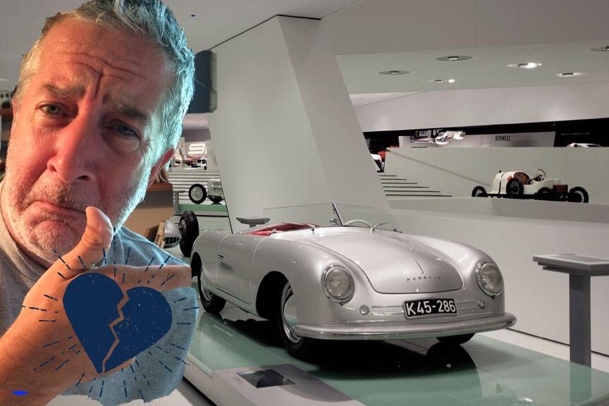 Heartbroken I did not make it to the Porsche Museum.