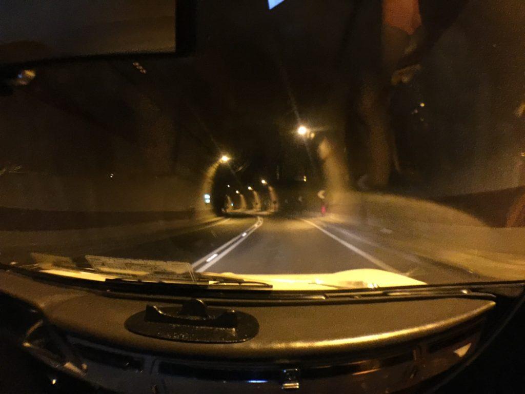 Tunnel to Sorrento - so far so good!