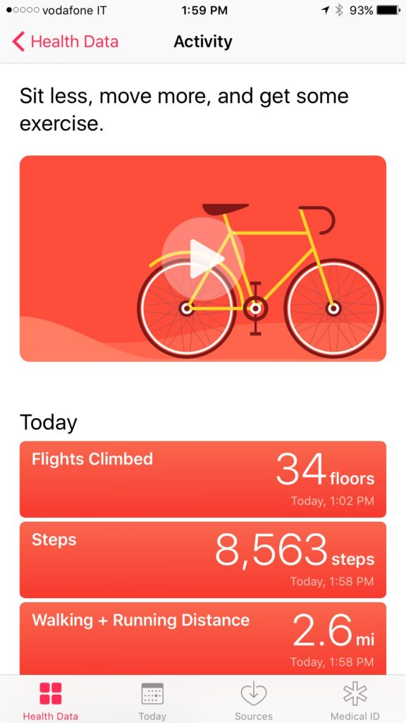 Interesting to see how many steps/floors it takes to climb Vesuvius.