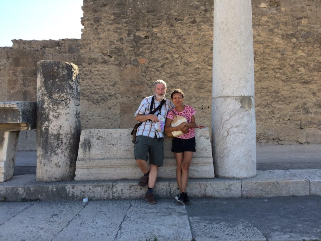 Mom And Dad at Pompeii