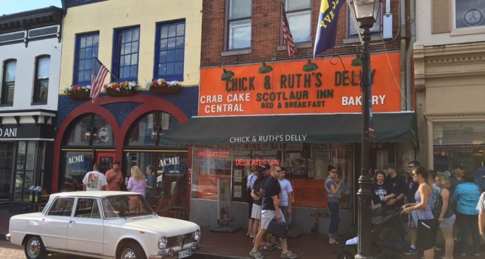 World famous 'Chick & Ruth's Delly', Annapolis.