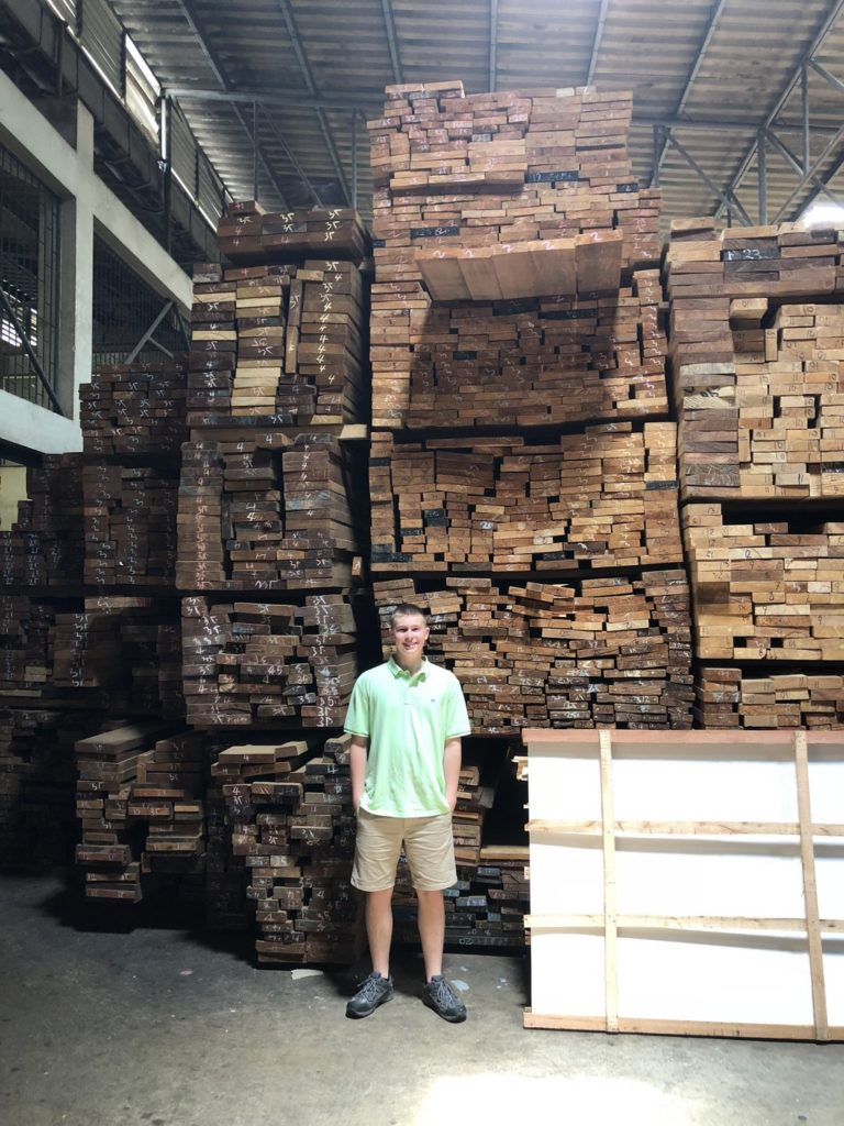You need wood, you go to the wood store.