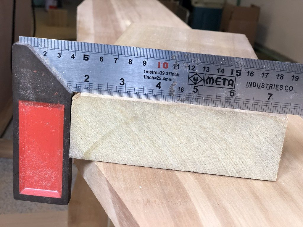 Thailand wood is full size. This is a true 2x6, even after planing.