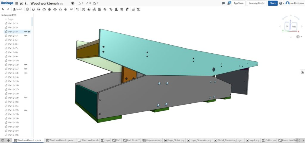 3D solid view from Onshape!