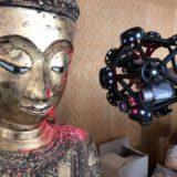 3D scanning a sacred Buddha