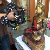 3D SCANNING A BUDDHA AT WAT AMPHAWAN
