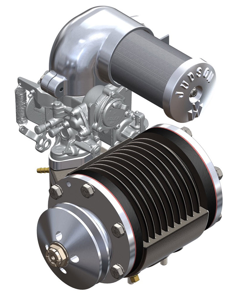 The Judson VW supercharger, and we will reverse engineer with Faro, Creaform, DesignX and Solidworks.