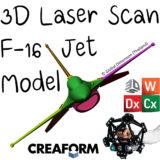 F-16 Laser Scanned