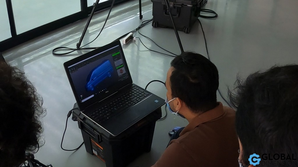 Global Dimension Thailand use 3D Systems Geomagic DesignX and Wrap in our Bangkok Thailand Office. Creaform laser scanner.