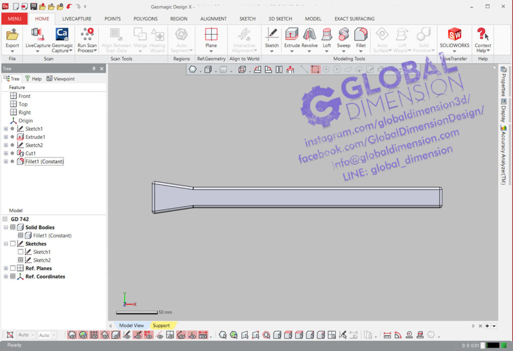Reverse Engineering CAD by Geomagic, DesignX, Wrap, and SolidWorks.